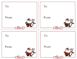 Gift Tag Template Free Free Printable Christmas Gift Tags Templates Christmas