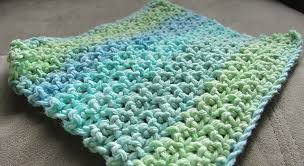 Easy Crochet Dishcloth Patterns Inspiration Free Pattern] This Makes A Loose Thinner Dishcloth Than Any Other
