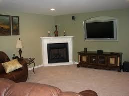 corner fireplace decorating ideas design modern gas decoration family room cream lounge simple fireplaces ga smlf