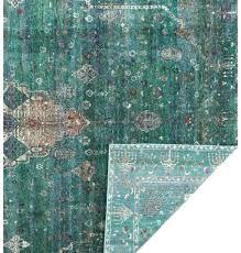 silk sari rug art design rugs recycled