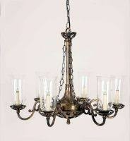 vintage ceiling lighting. Empire Traditional Solid Brass Period 6 Light Chandelier Vintage Ceiling Lighting K