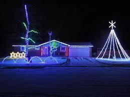 9news Christmas Lights 7148 S Grant Street Centennial A Fun Display Including