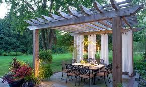 outdoor garden structures