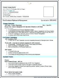 Resume Format Samples Resume Model Free Download Good Resume Format