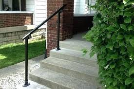 metal handrails for stairs purchase a stair railing kit outdoor steps wall mounted kits spindles