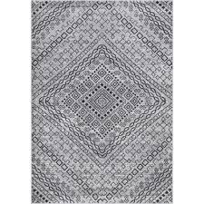 nuloom vintage mosaic karole dark grey 8 ft x 12 ft area rug