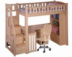 1000 Ideas About Bunk Bed Mesmerizing Free Loft Bed With Desk Plans