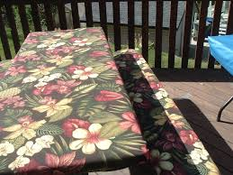 image of picnic table covers 3 piece set padded e73