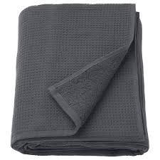"<b>SALVIKEN</b> Bath sheet, anthracite, 39x59"" (100x150 cm) - <b>IKEA</b>"