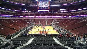 Chicago Bulls Stadium Seating Chart United Center Section 106 Chicago Bulls Rateyourseats Com