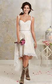 Popular Country Style Vintage Lace Beach Wedding DressBuy Cheap Vintage Country Style Wedding Dresses