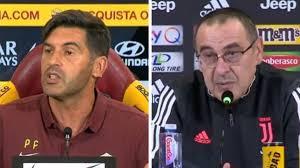 Roma - Juventus, l'analisi tattica: Paulo Fonseca vs ...