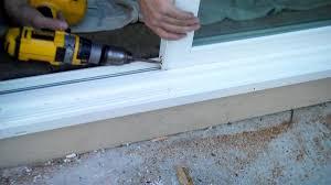 maintenance for your sliding glass door