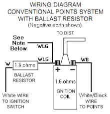 coil resistor wiring diagram coil wiring diagrams online non ballasted igintion system