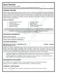 Resume Examples For Teaching Best Images About Teacher And Principal