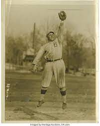 1917 Jimmy Hickman Service Photograph. Wonderful action shot that | Lot  #10495 | Heritage Auctions