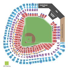 Rangers Stadium Seating Chart Texas Rangers Packages
