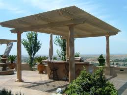 freestanding pergola cover