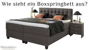 Boxspring Bett Und Nachttisch Boxspring Bett Mit Nachttisch