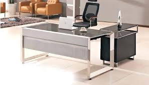 office table ideas. Office Table Design Modern Glass Top With Wooden Side Buy . Ideas Y