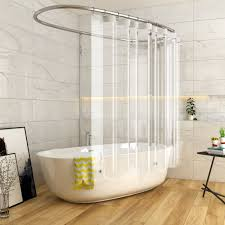 bathroom tub decor clear peva shower curtain liner waterproof non toxic no rust