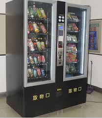 Vending Machines With Credit Card For Sale Adorable Combo Vending Machine Combine For Snacks Drinks Coin Note Operated