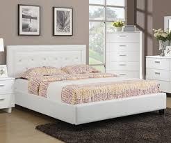 DIVA SPARKLE LOW PROFILE LEATHERETTE BED