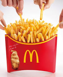mcdonalds supersize meal. Brilliant Meal When Super Sized Isnu0027t Enough In Japan McDonalds Just SuperSized  The Crap Outta French Fries Mcdonalds Supersize Meal