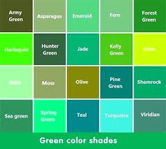 Awesome Shade Of Green Color Name Palette Hue Blog Pantone