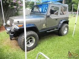 1988 jeep wrangler sahara utility 2 door 4 2l lifted w american racing