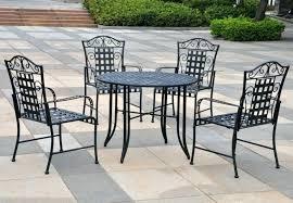 refinishing wrought iron patio furniture outdoor indoor