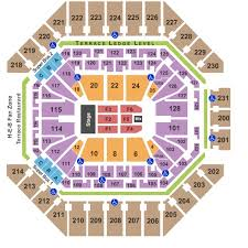 Golden One Concert Seating Chart 55 Matter Of Fact At T Center Concert Seating View