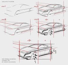 Industrial Design For Beginners Car Sketch Tutorial By Marcin Car Sketch Industrial