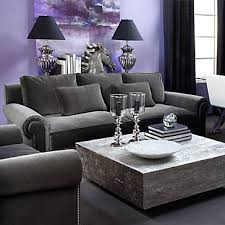 Small Picture Charcoal and Purple living room loving this DECORAO E
