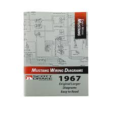 scott drake mp 3 p mustang pro wiring manual large format 1967 scott drake pro wiring diagram manual large format 1967