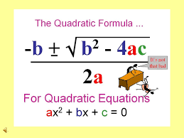 3 mm2a4b mm2a4b b find real and complex solutions of equations by factoring taking square roots and applying the quadratic formula