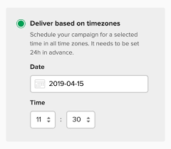 Email Deliver Deliver Emails By Time Zone Mailerlite