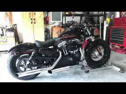 harley sportster forty eight oil change