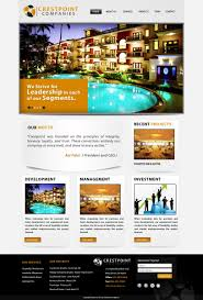 Cincinnati Web Design Company Upmarket Modern Hospitality Web Design For A Company By Pb