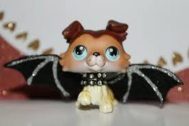 Littlest Pet Shop Light Up Dragonfly Littlest Pet Shop Authentic Collie Dog Lps 58 Paw Up Blue Eyes W Acc Hasbro