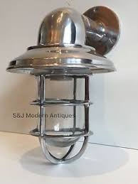 industrial wall lights. Image Is Loading Vintage-Industrial-Wall-Light -Bulkhead-Marine-Aluminium-Nautical- Industrial Wall Lights A