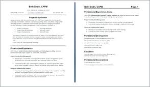 2 Page Resume Inspiration Staple Two Page Resume Resume Mems