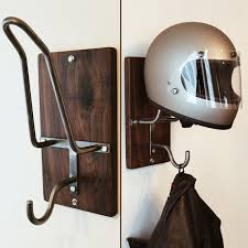 Motorcycle Coat Rack Motorcycle Helmet Rack Jacket Hook 4