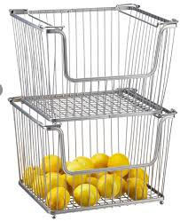 large york open stack basket