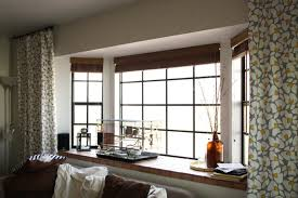 Window Treatment For Bay Windows In Living Room Living Room Windows Without Curtains Euskal Net Lr Decoration