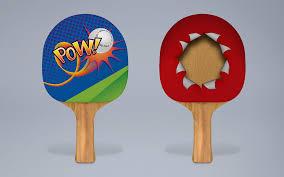 Design Table Tennis Table Tennis Bat Design On Behance