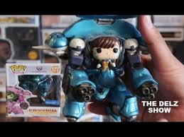 Funko POP Games <b>Overwatch</b> 2PK- 6 inch <b>D</b>.<b>Va</b> & Meka (<b>Blueberry</b> ...