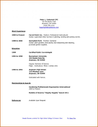 How To Make A Resume For College Students