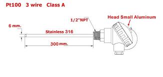 online buy whole temperature sensor rtd pt100 from wzpk 230 rtd pt100 temperature sensor mainland