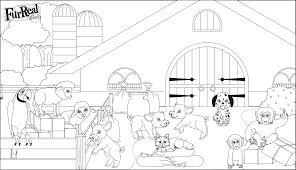 Dessin Animaux De Ferme Fantastique Mod Le Clubdemax Coloriage